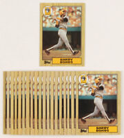 1987 Topps #320 Barry Bonds Rookie RC EX-EXMINT Pittsburgh Pirates FREE SHIPPING