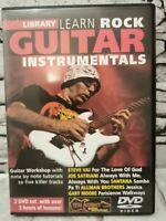 Danny Gill: Learn Rock Guitar Instrumentals: Guitar: Instrumental Tutor