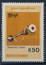 Myanmar 1999 Mi. 347 Nuovo ** 100% Strumenti musicali Arte