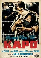 KAPO (1960) * with Italian or dubbed English audio and switchable English subs *