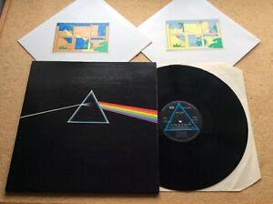 """PINK FLOYD """"dark side of the moon"""" UK 1973 HARVEST label LP complete EX"""