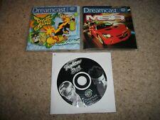 VF 3 To-MSR & JET SET RADIO-Sega Dreamcast (PAL/UK) - DISQUES ET Manuels Uniquement