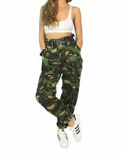 vintage/urban mens/ womans//girls camo combat gargo/pants/trousers  size 8 - 10
