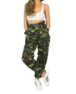 vintage Urban/girls camo dpm soldier 95 combat gargo//trousers  sizes 8 to 14