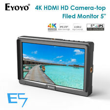 Eyoyo 5 Inches Ultra FHD Slim On-Camera Monitor 4K HDMI IPS For Sony DSLR Canon