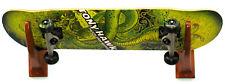 New Set Snowboard Skateboard Wakeboard Racks Decorative Teak Wood Board Holder N