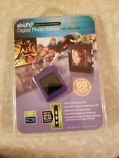 SHIFT3 Digital Photo Album w/ Keychain USB 2.0 Rechargable 8MB 60 Images NEW