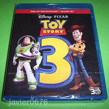 TOY STORY 3 DISNEY PIXAR BLU-RAY 3D + BLU-RAY NUEVO Y PRECINTADO