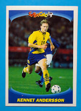 PANINI SUPERCALCIO 1995/96-Figurina/Sticker-n.123-KENNET ANDERSSON-New