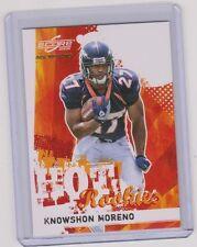 Knowshon Moreno 2009 Score Inscriptions #27/499 ebay 1/1 Georgia Broncos