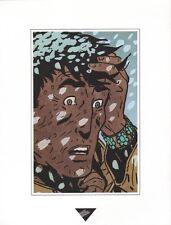 Affiche BERTHET 1993 Dupuis Extrait de Halona  23x30
