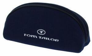 """Modernes Taschen-Etui mit Reißverschluss von """"TOM TAILOR"""" in mittel in Blau"""