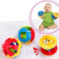 New Toddler Kids Cartoon Little Loud Jingle Ball Develop Intelligence Toy 3Pcs