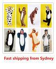 New Adult Kids Unisex Onesies Kigurumi Animal Pajamas Cosplay Costume Sleepwear