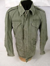 Korea War US Army M1950 M-1950 OG-107 Field Coat Jacket - Sz Small/Long #1