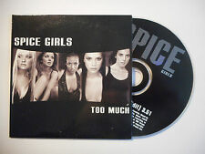 SPICE GIRLS : TOO MUCH ( RADIO EDIT ) ♦ CD SINGLE PORT GRATUIT ♦