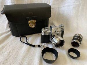 Vogtländer Bessamatic CS Kamera mit Septon 2,0/50mm, +Objektiv 4/135mm (VOL0560)