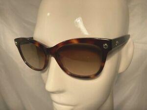 Longchamp Womens Sunglasses LO614S Brown Tortoiseshell Cat Eye 100% UV  rrp£140
