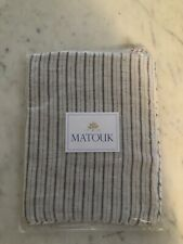 Matouk Tristen Boudoir Pillow Sham Linen