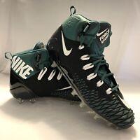 NEW Mens NIKE FORCE SAVAGE ELITE size 13 Football Cleats AJ6605-011 Black Green