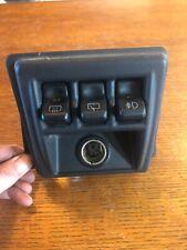 97-02 Jeep Wrangler TJ OEM Switch Panel BEZEL REAR WIPER , DEFROST , FOG Hardtop