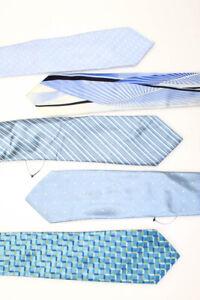 DUCHAMP Brooks Brothers Sulka Mens Silk Striped Polka Dot Ties Green Blue Lot 16