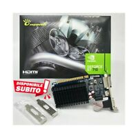 SCHEDA VIDEO NVIDIA GEFORCE GT 710 1GB DDR3 GT710 LOW PROFILE LP SCHEDA GRAFICA.