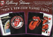 Rolling Stones Then & Now Tour Playing Cards- Rare Find