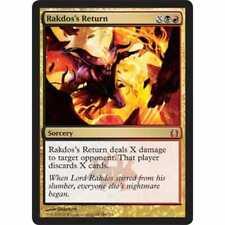MTG RETURN TO RAVNICA * Rakdos's Return - Condition: Excellent