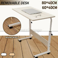 Movable Computer Desk Adjustable PC Table Study Home Office Work Station 90c
