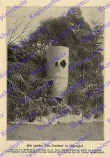 Schanghai Denkmal SMS Iltis Kaiserliche Marine Boxeraufstand China Slevogt 1900