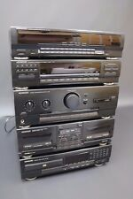 Kenwood M-34 Midi Stack System & GE-540 Graphic Equalizer CD Tuner Twin Tape