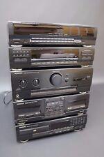 KENWOOD M-34 sistema Stack Midi & GE-540 EQUALIZZATORE GRAFICO Sintolettore CD DOPPIO NASTRO