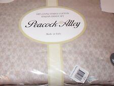 Peacock Alley San Pietro Italian King Duvet Cover Shams Set Topaz Brown $1525