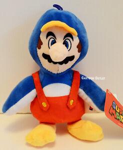 "Nintendo Super Mario 8"" Plush Penguin Stuffed Doll Toy Gift Super Mario Bros New"