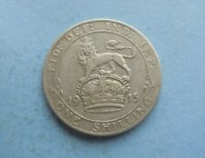 George V., Shilling 1915 in Good Condition.