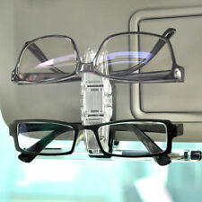 Durable Car Vehicle SunVisor Double Sunglasses Eye Glasses Card Pen Holder Clip