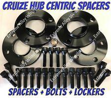 Alloy Wheel Spacers 25mm x 4 Bmw X3 X4 F25 F26 M14X1.25 + Lockers B Cruize