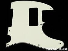 *NEW Parchment P-90 Telecaster PICKGUARD for USA Fender Tele P90 8 Hole 3 Ply