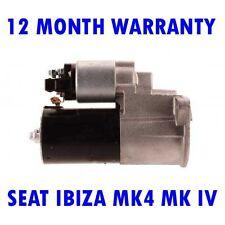 SEAT IBIZA MK4 MK IV 1.4 16V HATCHBACK 2002 2003 2004 - 2007 RMFD STARTER MOTOR