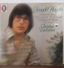 Joseph Haydn Christian Zacharias Sonaten fur Klavier C-063-30 776  10117LLE