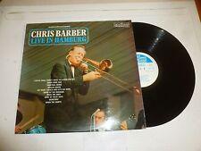 CHRIS BARBER & HIS JAZZBAND - Live In Hamburg - Rare 1968 UK 10-track stereo LP