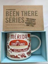 Starbucks Coffee 14oz mug Merida Mexico Been There series cup NWT
