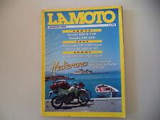 LA MOTO 8/1992 KAWASAKI KLE 500/KLR 600/VN 1500 SUMO/GILERA RC 600 R/YAMAHA FZR