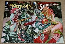 BATMAN SUPERMAN 50 GUILLEM MARCH HARLEY QUINN POISON IVY INTERLOCKING VARIANTS 1