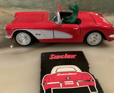 Crown Premiums Sinclair Oil 1959 Corvette with Dino. 1:25 Die-cast
