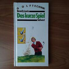 BUCH  /  GOLFTECHNIK ( Das kurze Spiel ) ( Golf, Sport )