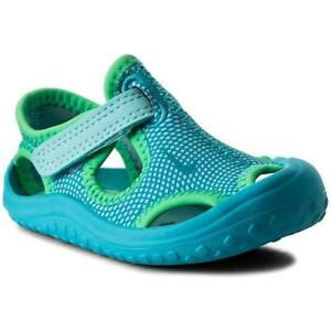 NEW Nike Sunray Protect (TD) Toddler Sandals Chlorine Blue 903634-400 Size 7C