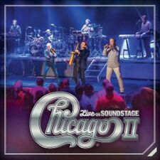 Chicago - Chicago II - Live on Soundstage - New CD/DVD Album  - Pre Order - 29/6