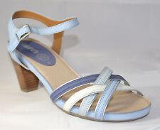 Ara Damenschuh Sandale Leder blau/kombi Gr. 41 (PE1705/S)
